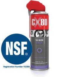 CX-80 Silicon Spray NSF