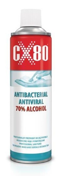 antibacterial antiviral spray