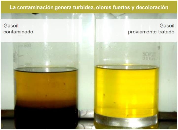 contaminación diésel